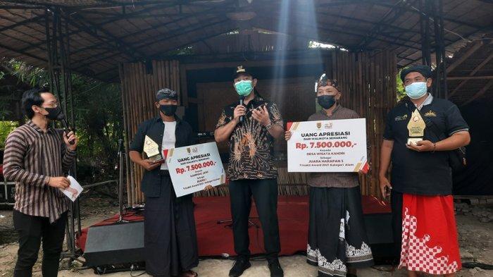 Ikut Berbahagia, Kampung Jawi dan Desa Wisata Kandri Semarang Gondol Penghargaan TTA 2021
