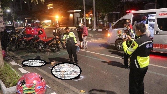Jatuh dari Motor setelah Ditendang Pembegal di Jalan Pemuda Kota Semarang, Seorang Pemotor Tewas