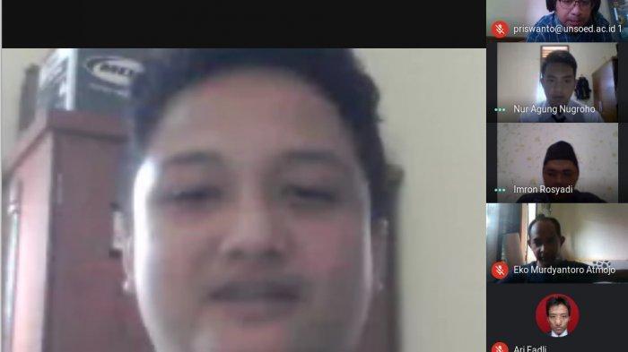 Kisah Mahasiswa Unsoed Purwokerto Jalani Ujian Skripsi Online di Tengah Wabah Virus Corona
