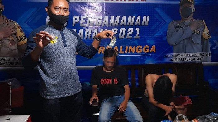 2 Pemuda di Purbalingga Dicegat Polisi saat Tumpangi Motor Tak Bernopol, Ada Pil Hexymer di Bagasi