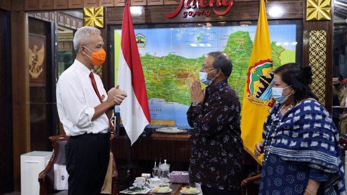 Dubes India untuk Indonesia Temui Gubernur Ganjar Pranowo, Bahas Peluang Investasi di Jateng