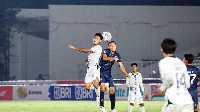 Komarodin Nyaris Cetak Gol di Menit 76, Skor Kacamata Akhir Laga PSIS Semarang Vs Arema FC