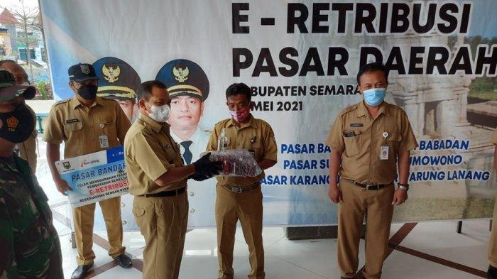 Enam Pasar Tradisional di Kabupaten Semarang Mulai Terapkan E-Retribusi, Ngesti: Cegah Kebocoran