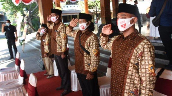 Kembali ke NKRI, 5 Eks Napiter Ikuti Upacara Bendera 17 Agustus di Balai Kota Solo
