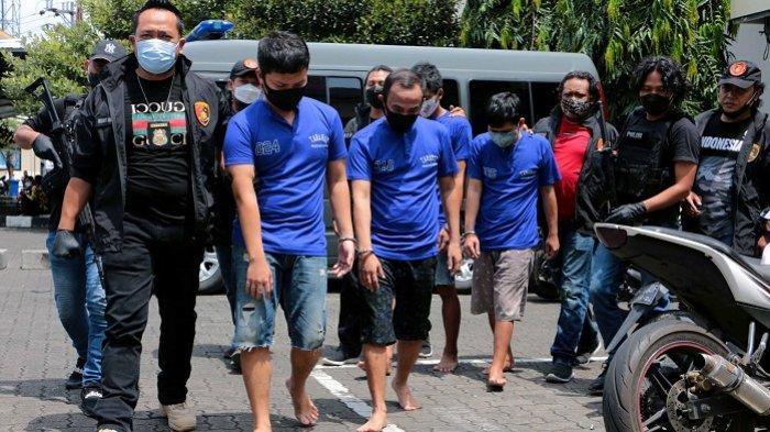 Cari Korban di Mal di Kota Semarang, 4 Pelaku Gendam Gasak Uang Rp 90 Juta. Ditangkap saat Karaoke