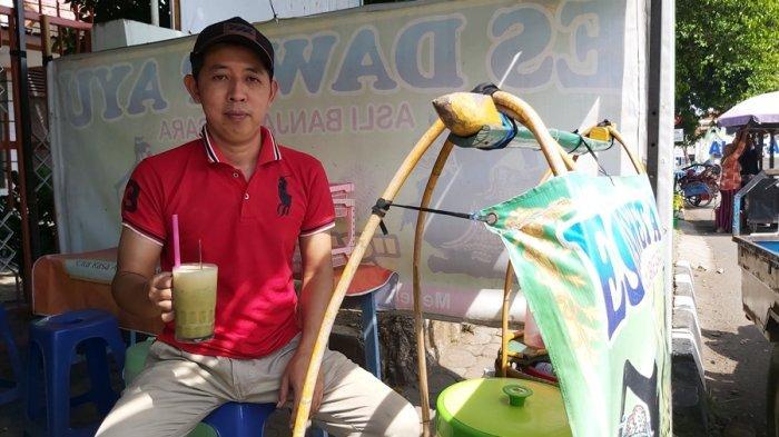 Cuma Rp 5.000, Es Dawet Ayu Banjarnegara di Kota Tegal, Teman Pelepas Dahaga, Sudah Bonus Durian