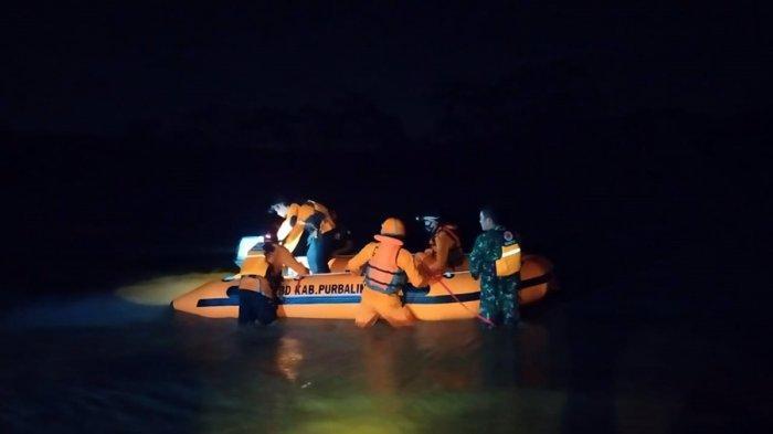 Tiba-tiba Arus Besar Datang, Dua Pemuda Warga Purbalingga Terjebak Saat Menjala Ikan