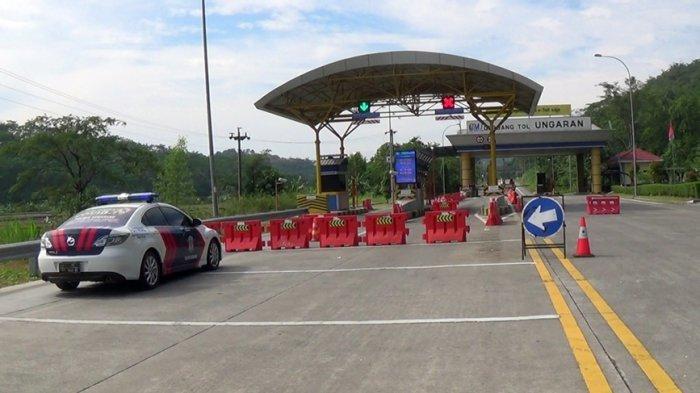 Dua Exit Tol di Kabupaten Semarang Ditutup, Kapolres: Sebaiknya Masyarakat di Rumah Saja