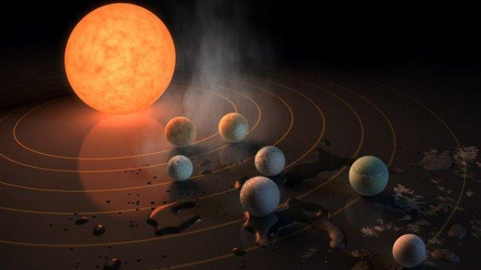 Astronom Temukan Zona Layak Huni Selain Bumi
