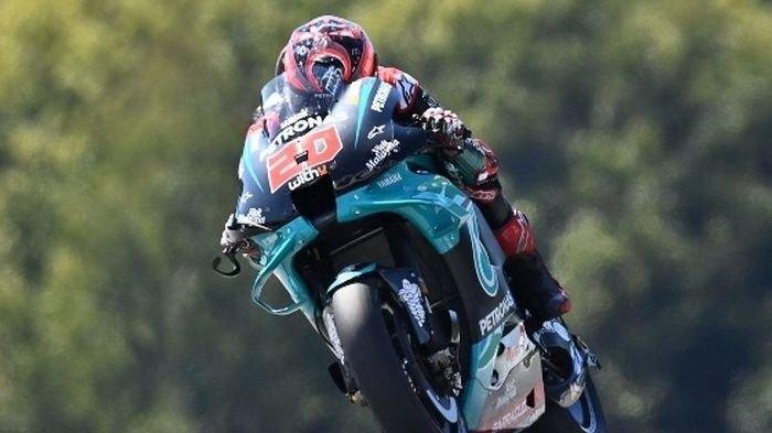 Gagal Lagi Naik Podium, Fabio Quartararo Harus Puas Finish di Urutan 18 MotoGP Aragon