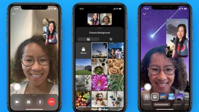 Kini, Latar Panggilan Video di Facebook Messenger Bisa Diganti seperti di Zoom, Loh. Begini Caranya