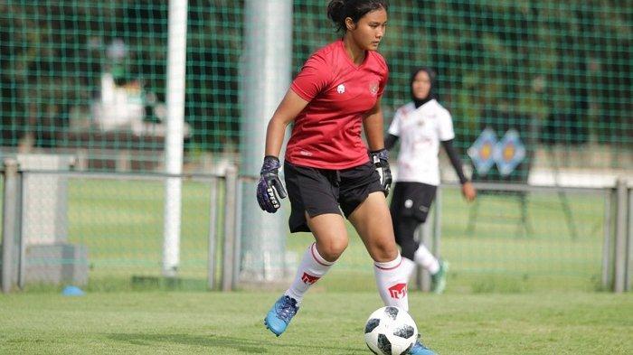 Mulai Jalani TC Timnas Putri Senior, Kiper Asal Banjarnegara Ini Targetkan Masuk Tim Inti
