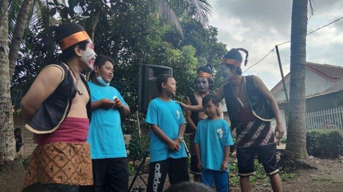 Cegah Anak Kecanduan Gadget, Warga Karangklesem Banyumas Gelar Festival Dolanan Bocah