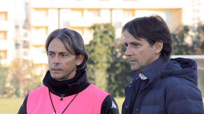 Inzaghi Bersaudara Torehkan Tinta Emas, Gebrak Seri A dan Seri B Liga Italia