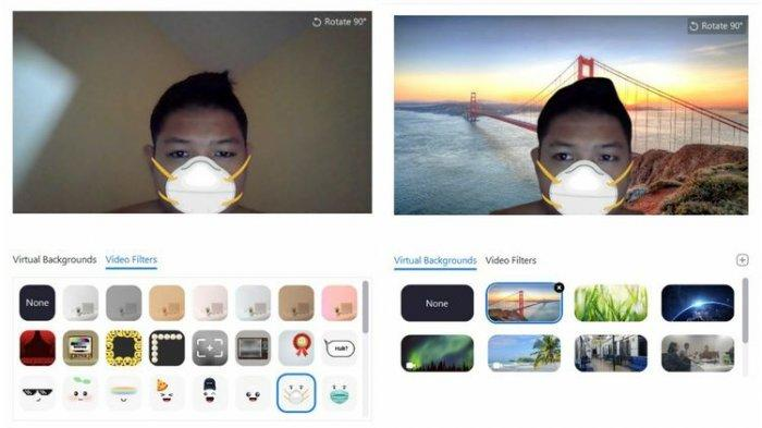 Fitur Terbaru Aplikasi Virtual Zoom, Ganti Background Sesuka Hati Saat Rapat, Begini Caranya