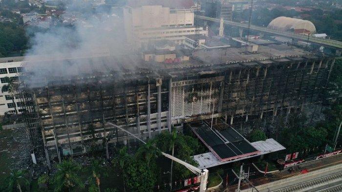 Bukan Korsleting, Kebakaran Gedung Kejagung Diduga dari Api di Ruang Rapat Biro Kepegawaian