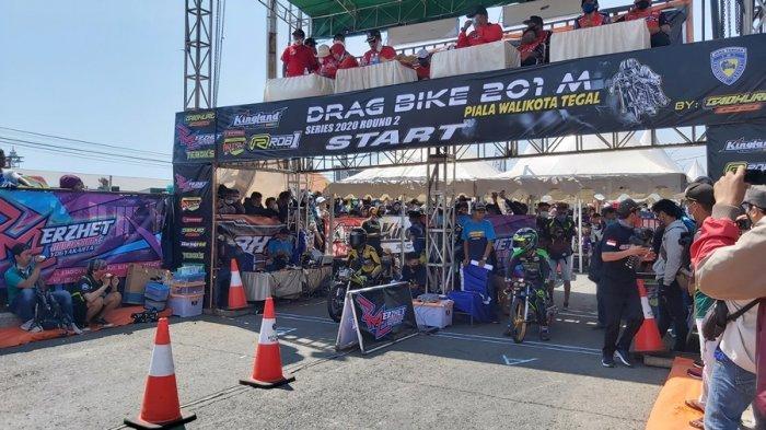 Kembali Digelar, Kejuaraan Gadhuro Drag Bike Piala Wali Kota Tegal, Diikuti 750 Pembalap