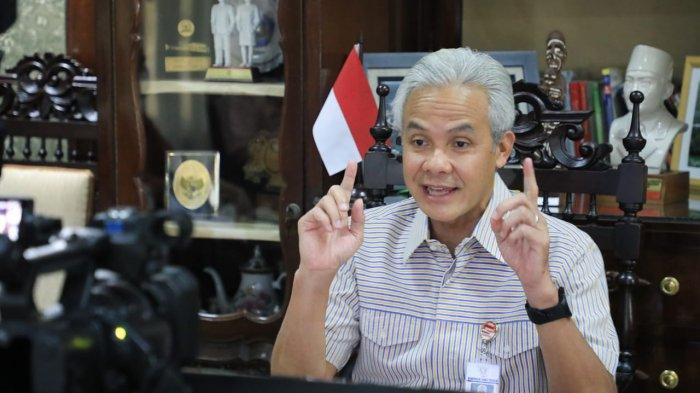 Gubernur Ganjar Minta Pemkab Purbalingga Lakukan Tracing Kontak Erat Murid Positif Covid di Mrebet