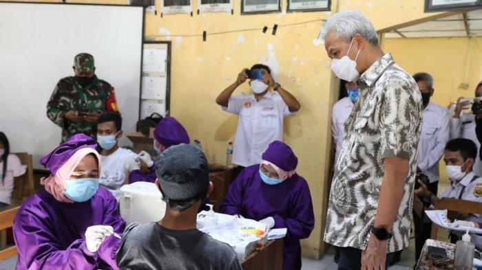 Grobogan Kini Jadi Wilayah Perhatian Serius Gubernur Ganjar, Kaitannya Capaian Vaksinasi