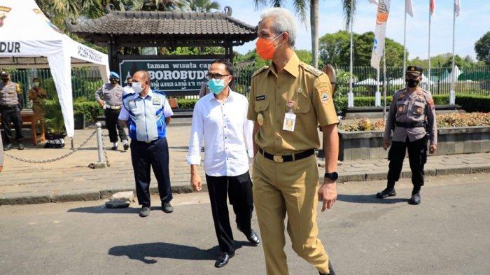 Gubernur Ganjar: Daerah Lain Bisa Meniru Magelang, Tutup Semua Objek Wisata Selama Libur Lebaran