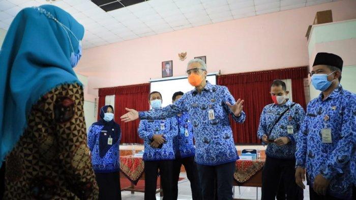 Gubernur Jateng Soroti Perilaku Guru Selama Uji Coba PTM, Evaluasi Masih Dilakukan Disdikbud