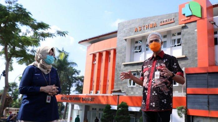 Gubernur Ganjar Pranowo: Kesiapan Penanganan Pasien Covid-19 Bisa Tiru RSPAW Salatiga