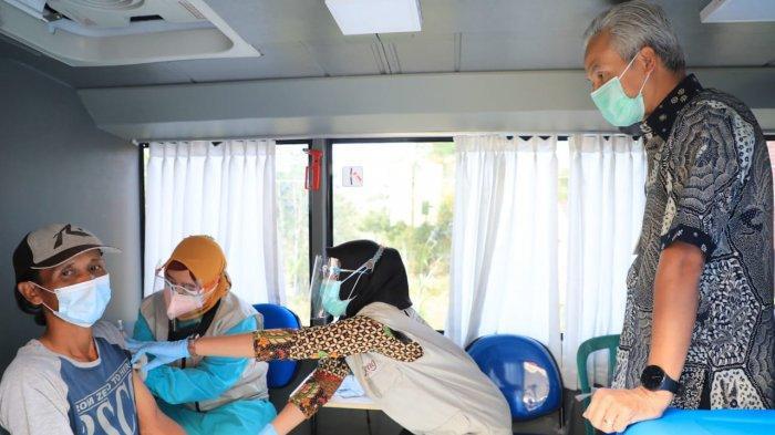 Jateng Kini Punya Bus Vaksin, Ganjar Sebut Percepat Vaksinasi Khususnya Buat Daerah Terpencil