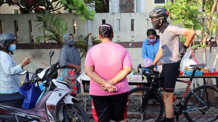 Ganjar Gowes Masuk Gang Sempit di Semarang Timur, Masih Jumpai Banyak Warga Tak Gunakan Masker