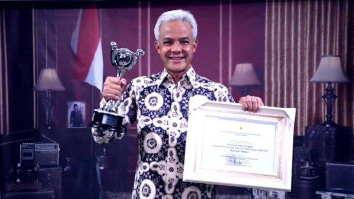 Jateng Dianugerah Parahita Ekapraya Kategori Mentor, Ganjar Sebut Gender Bukan Penghalang