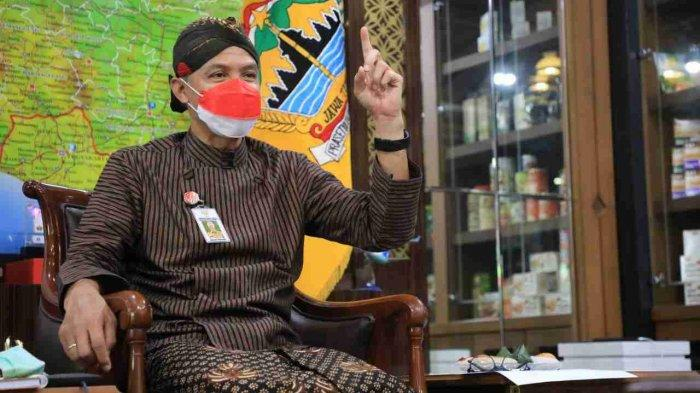 Gubernur Ganjar Apresiasi Pemkab Blora, Temuan Kasus Positif Bukan Karena Pelaksanaan PTM