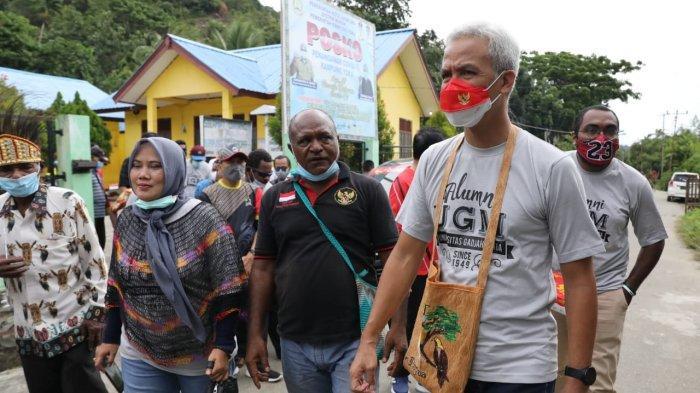 Ganjar Gagas Desa Kembar, Bangun Kemitraan Jateng dan Papua, Begini Gambaran Konsepnya