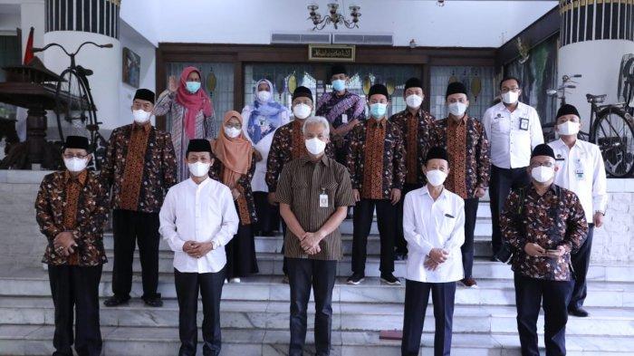 Ganjar Ingin Seperti PON Papua, Datang Dukung Langsung Kafilah Jateng di STQ Nasional