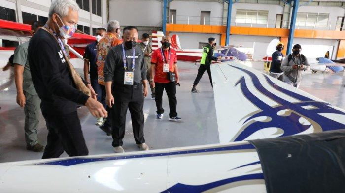 Ganjar Beri Dukungan Langsung ke Atlet Jateng di Mimika Papua, Cabor Biliar dan Terbang Layang