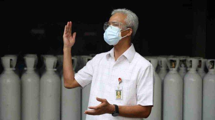 Rumah Sakit Tidak Usah Panik, Gubernur Ganjar Pastikan Stok Oksigen Aman di Jateng, Ini Contohnya