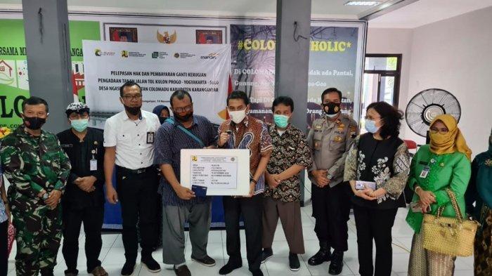 Terdampak Proyek Tol Solo-Yogyakarta di Karanganyar, Ganti Untung 15 Bidang Tanah Sudah Dibayarkan