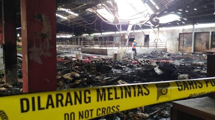 Renovasi Pasar Wage Purwokerto Dikerjakan Awal Tahun, Perbaikan Hanya di Blok B yang Terbakar