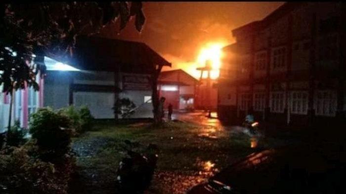 6 Blok Worskhop di UPT Logam Purbalingga Hangus Terbakar, Api Diduga dari Gudang BBM