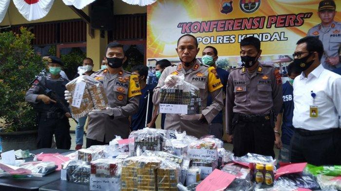 Tak Cuma Curi Rokok Minimarket di Kendal, Nanang Juga Kedapatan Bawa 24 Paket Sabu Saat Ditangkap