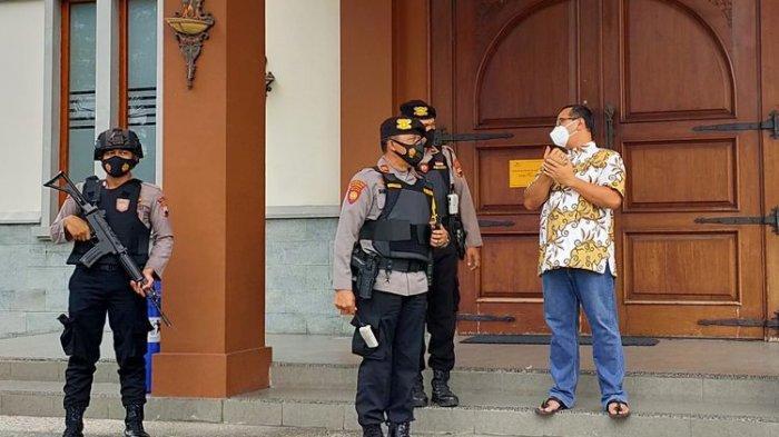 Satu Gereja Dijaga Delapan Polisi, Perayaan Paskah di Kota Tegal