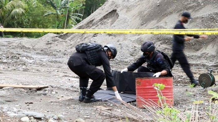 Sudah Dimusnahkan Polda Jateng, Temukan Granat Nanas Aktif di Tepian Sungai Serayu Banjarnegara