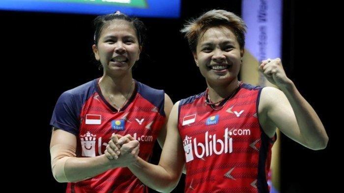 Selamat, Ganda Putri Greysia Polii/Apriyani Rahayu Sumbang 1 Gelar Thailand Open 2021 bagi Indonesia