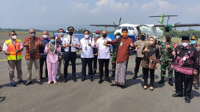 Bandara JB Soedirman Purbalingga Sudah Beroperasi, Ganjar Tuntut Bupati Tiwi: Cari Ide Kreatif