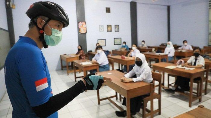 Masih Temukan Siswa Naik Angkot saat PTM Terbatas, Gubernur Ganjar: Secara Umum Sudah Bagus