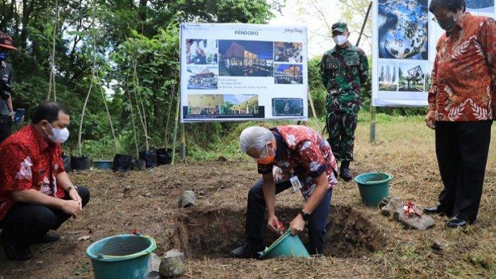 Pembangunan Jateng Valley di Hutan Penggaron Ungaran Dimulai, Ganjar: Harus Berorientasi Lingkungan