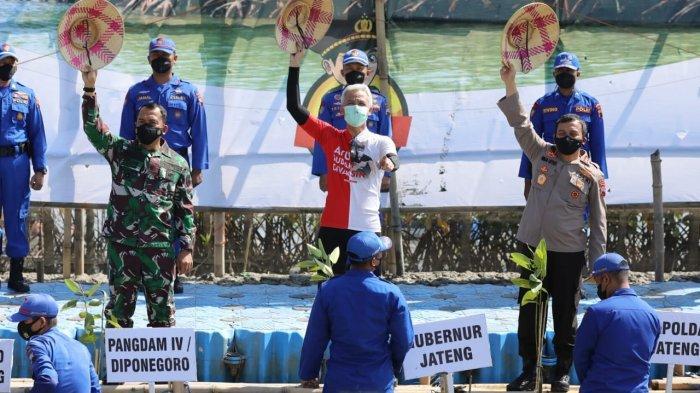 Program Mageri Segara - Jateng Sambut Cepat Trigger Presiden Jokowi, Kini Diawali Pihak Kepolisian