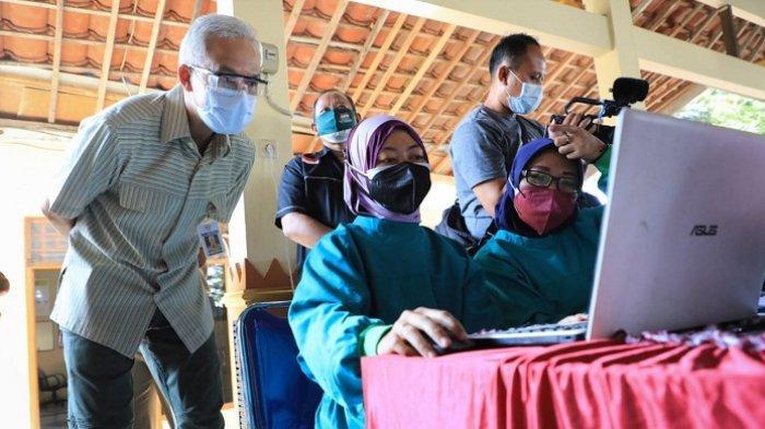 Ini Temuan Gubernur Ganjar Terkait Data Vaksinasi Covid Daerah dan Pusat yang Tak Sama