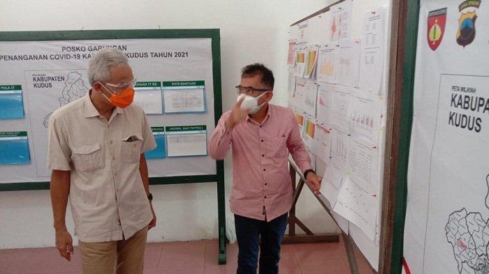 Virus Covid-19 Varian India Merebak di Kudus, Gubernur Ganjar: Lansia dan Anak-anak di Rumah Saja