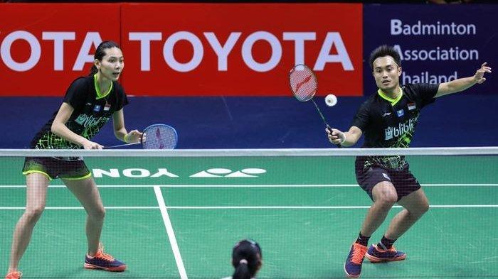 BWF Batalkan Singapore Open 2021, Ganda Campuran Hafiz/Gloria Terancam Gagal ke Olimpiade Tokyo