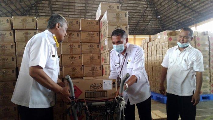 Pendistribusian Hand Sanitizer dan Masker Dikebut, Dinkes Kendal Target Selesai Sebelum Ramadan
