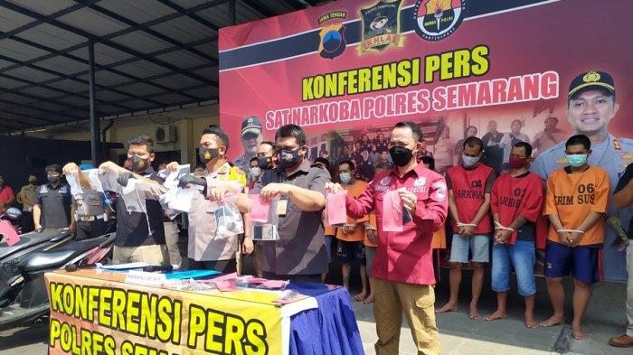 20 Hari Tangkap 11 Tersangka, Hasil Operasi Antik Candi Polres Semarang